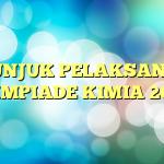 PETUNJUK PELAKSANAAN OLIMPIADE KIMIA 2015