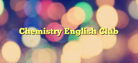 Formulir Pendaftaran Chemistry English Club